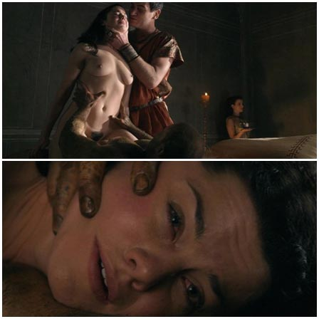 Master and Slave raped woman