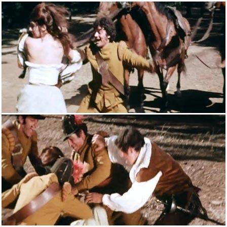 Group Musketeers raped woman