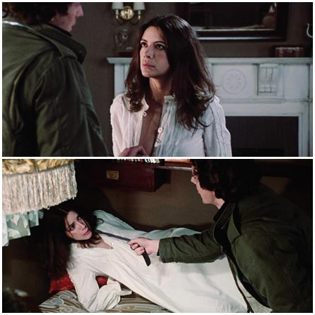 Carole Laure in Born For Hell (1976)