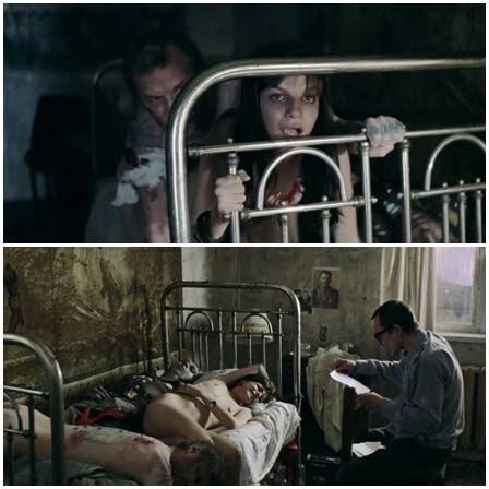 Agniya Kuznetsova, Rape Scene in Cargo 200 (2007)