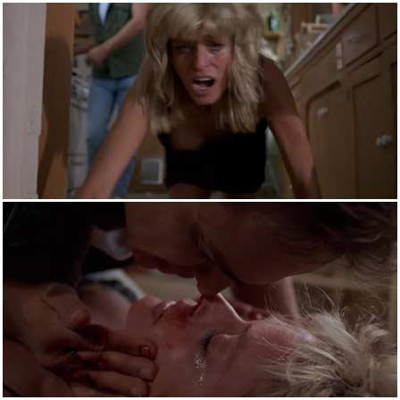 Farrah Fawcett, Rape Scene in Extremities (1986)