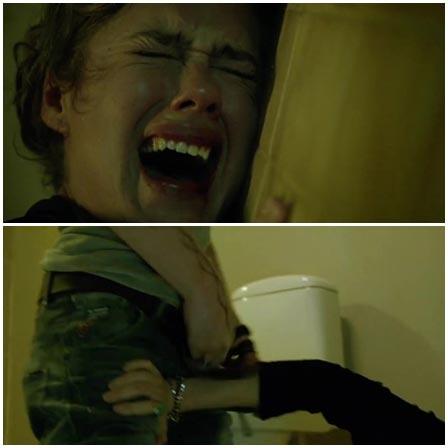Jessica Grabowski, Rape scene from 8-Pallo (2013)