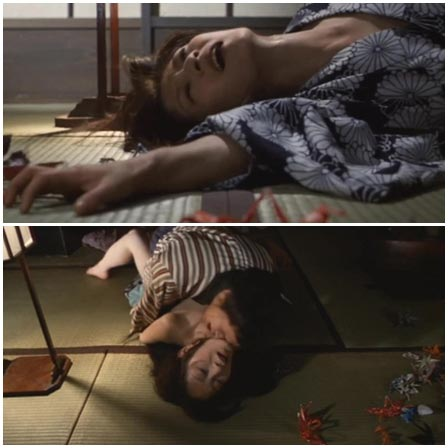 Rape Scene in Utamaro: Yume to shiriseba (1977)