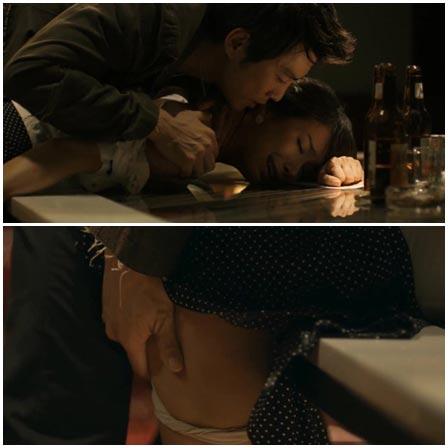 Jang Mi In Nae, Rape scene from 90 Minutes (2012)