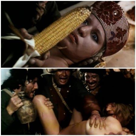 Rape scene in Katharina und ihre wilden Hengste Teil 1 (1983)