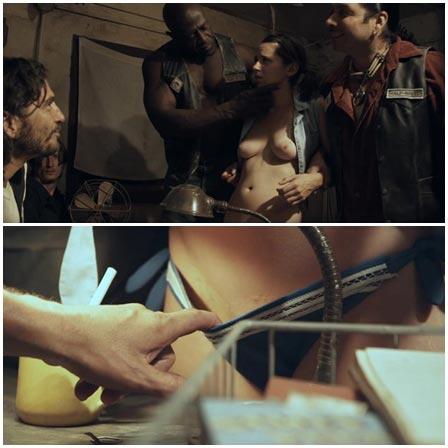 Rape scene Ep 3,  Nude Nuns with Big Guns (2010)