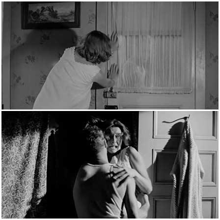 Patricia Neal rape, Hud (1963)