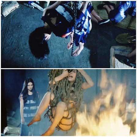 BDSM fetish scenes from mainstream movies, videoclip #03