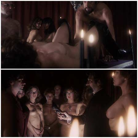 Naked Vanessa Hidalgo, Helga Liné, Carmen Carrión - Black Candles (1982) Nude Scenes