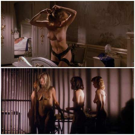 Naked Lucie Benesova, Brigitte Nielsen, Kimberley Kates, Kari Whitman - Chained Heat II (1993) Nude Scenes