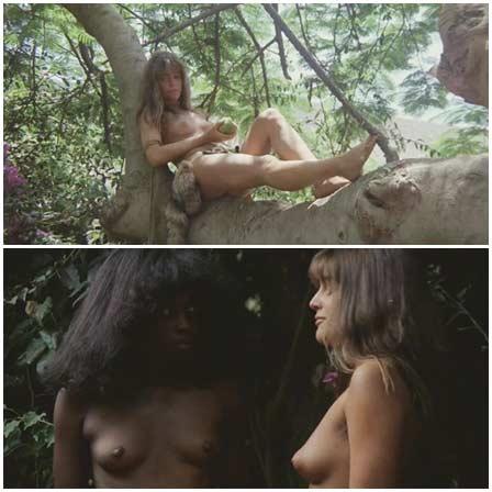 Naked Katja Bienert, Aline Mess@Diamonds of Kilimandjaro (1983) Nude Scenes