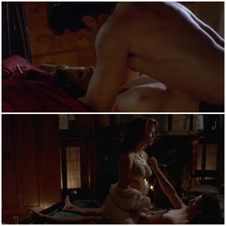 Naked Mimi Rogers, Monika Schnarre @ Bulletproof Heart (2014) Nude Scenes
