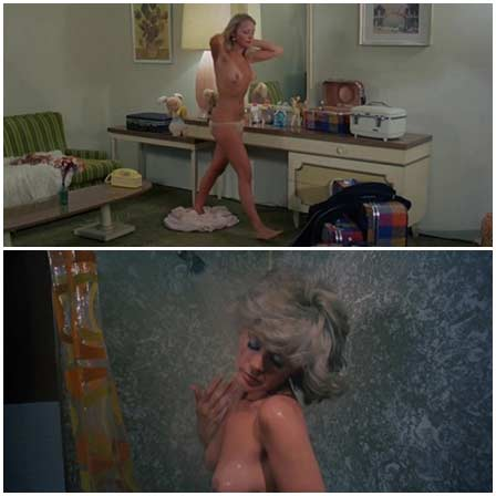 Naked Connie Stevens @ Scorchy (1976) Nude Scenes