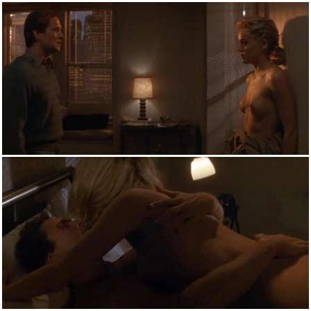 Naked Sharon Stone @ Basic Instinct (1992) Nude Scenes