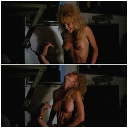 Naked Linnea Quigley @ Vice Academy (1988) Nude Scenes