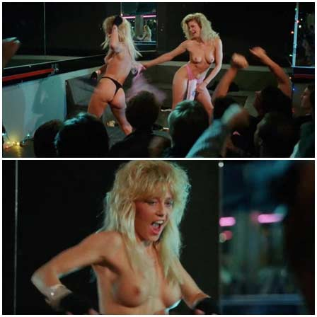 Naked Linnea Quigley, Ginger Lynn @ Vice Academy 2 (1990) Nude Scenes