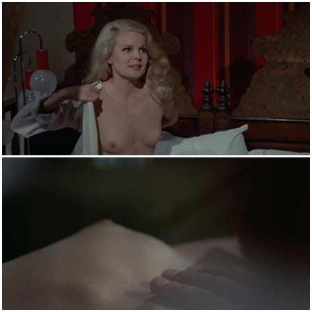 Naked Carroll Baker @ Paranoia (1970) Nude Scenes