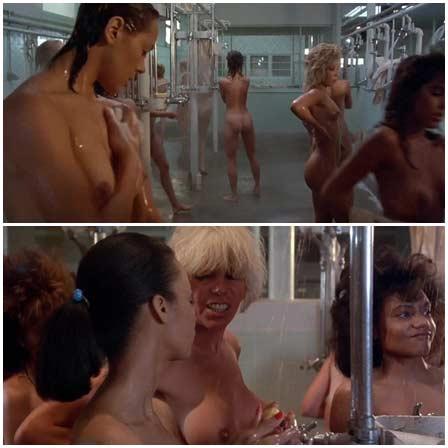 Naked Linda Carol, Leslee Bremmer, Darcy DeMoss etc.  @ Reform School Girls (1986) Nude Scenes