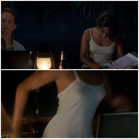 Naked Jennifer Lopez @ Anaconda (1997) Nude Scenes
