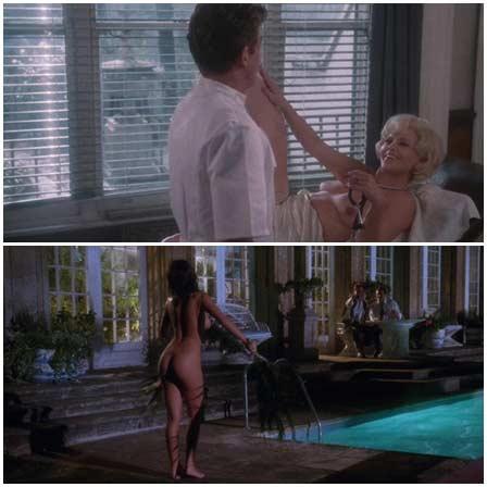 Naked Britt Ekland, Joanne Whalley  @ Scandal (1989) Nude Scenes