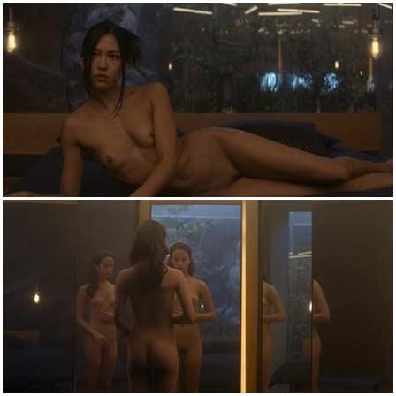 Naked Alicia Vikander, Sonoya Mizuno, Claire Selby, Elina Alminas @ Ex Machina (2015) Nude Scenes