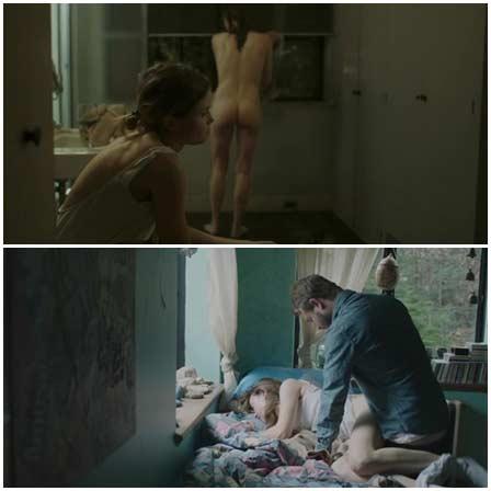 Naked Gitte Witt, Stephanie Ellis @ The Sleepwalker (2014) Nude Scenes