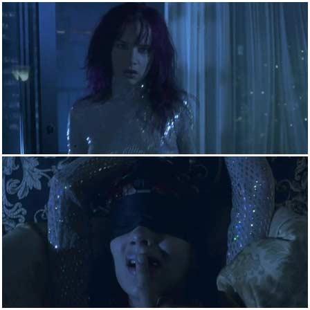 Juliette Lewis rape, Strange Days (1995)