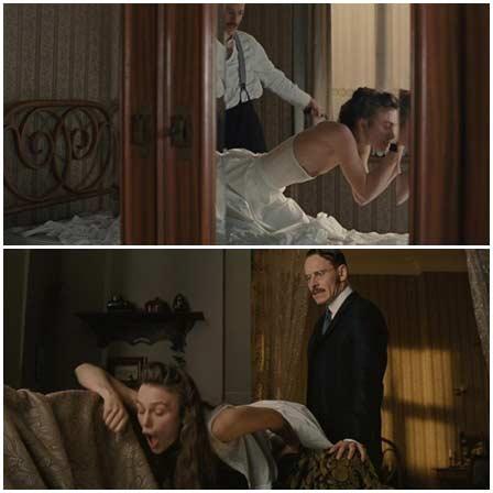 BDSM fetish scenes from mainstream movies #37 (spanking)