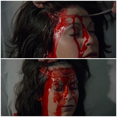 Death fetish scene #183 (strangled, scalped)