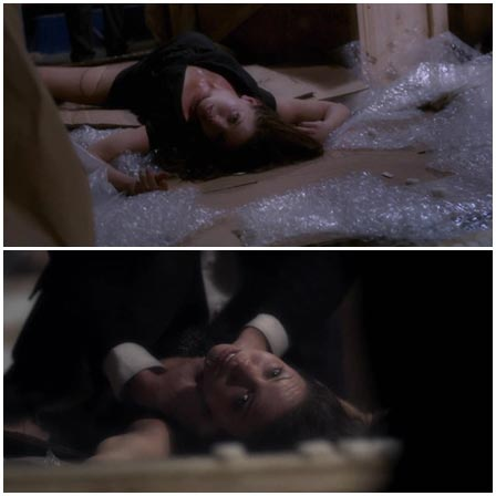 Death fetish scene #187 (strangled, dead woman)