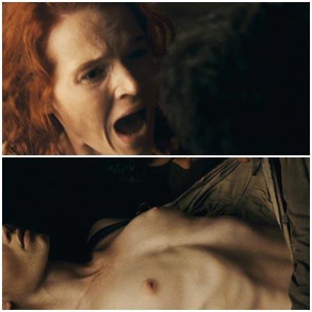 Death fetish scene #191 (strangled, naked dead woman)