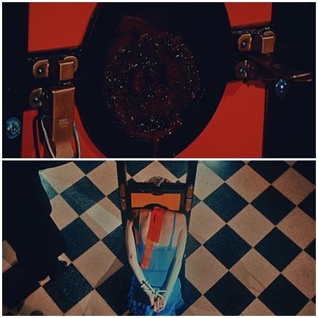 Death fetish scene #199 (execution, head cut off, guillotina)