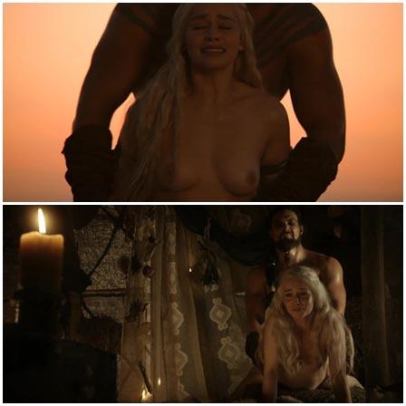 Emilia Clarke rape scene, Game of Thrones (TV Series, 2011–2019)