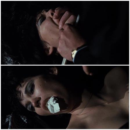 Death fetish scene #218 (suffocation, naked dead woman)