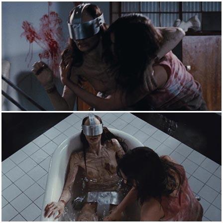 Death fetish scene #224 (torture victim, dead woman)