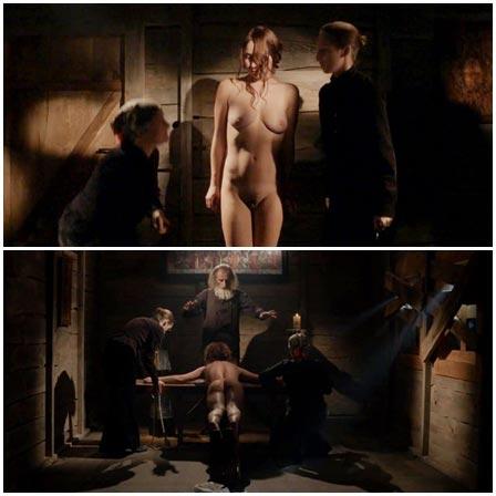 BDSM fetish scene #47 (bound, spanking)