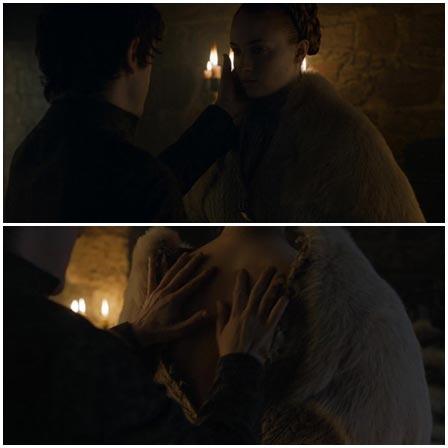 Sophie Turner rape scene, Game of Thrones (TV Series, 2011–2019)