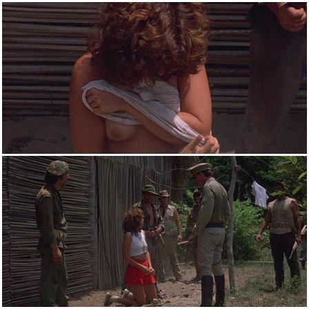 Female captive forced to strip