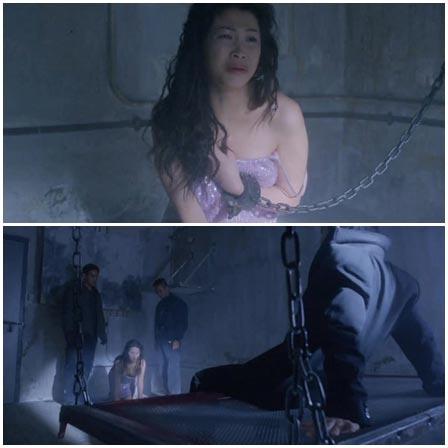 Rape a handcuffed asian slave woman