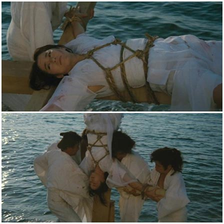 Death fetish scene #281(hanging upside down, execution, drawning)