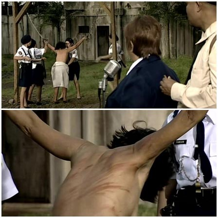 BDSM fetish scene #64 (whipping)