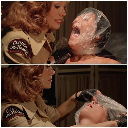 Death fetish scene #314 (suffocation by plastic bag, suffocation)