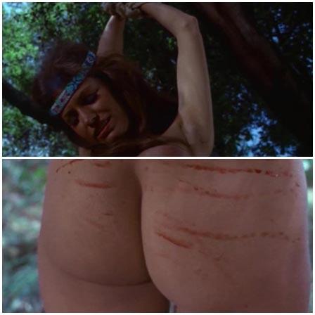BDSM fetish scene #68 (spanking, hanging by hands)