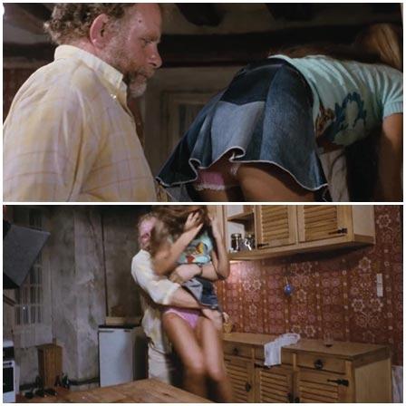 Rape of a pretty blonde stepdaughter