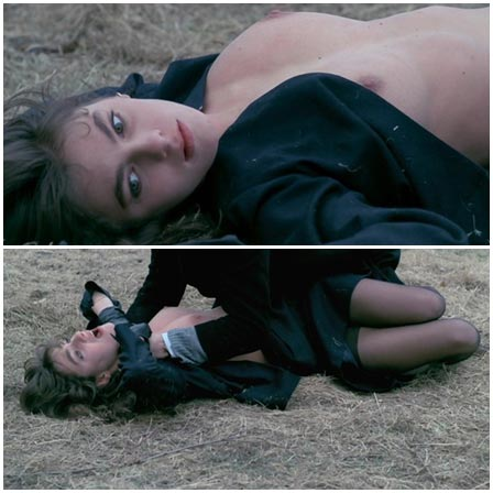 Death fetish scene #324 (strangled, naked dead woman)