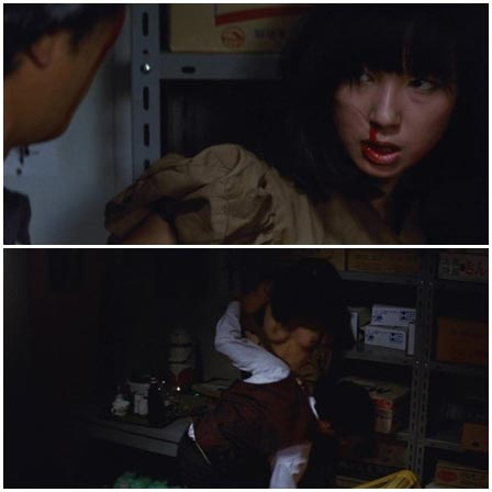 Asian dragged into the back room and raped