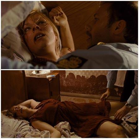 Death fetish scene #337 (dead woman, strangled)