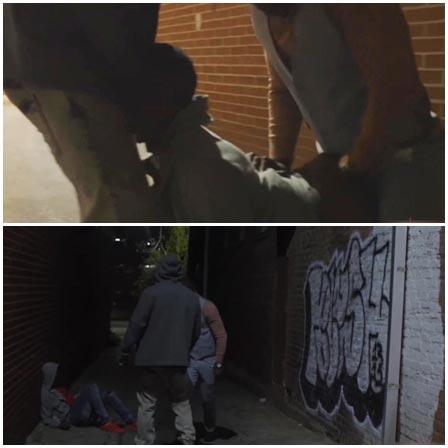 Rape of a black guy in two holes