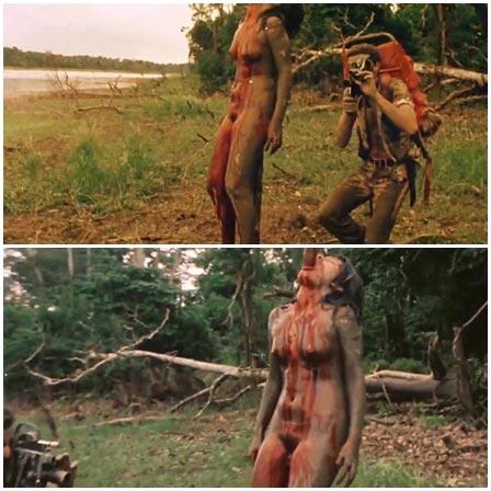 Death fetish scene #353 (impale, naked dead woman)