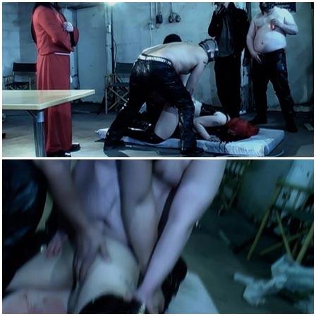Filmed brutal bloody gang rape